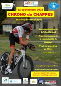 Chrono Chappes 2021 leaflet